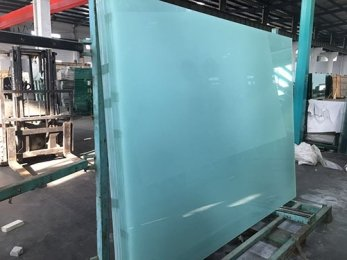 2017 Customized laminated safety glass